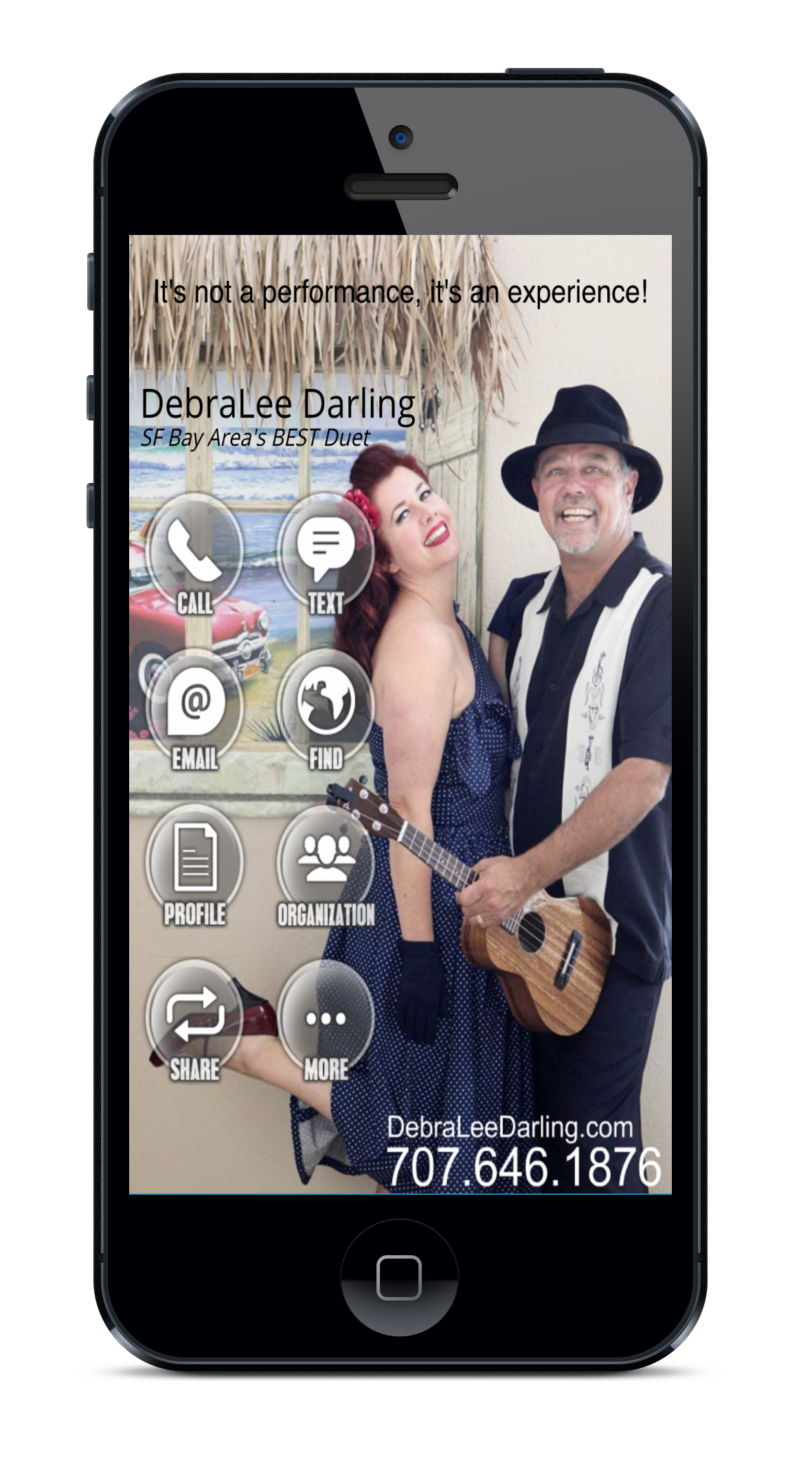 DebraLee Darling Bus Card App